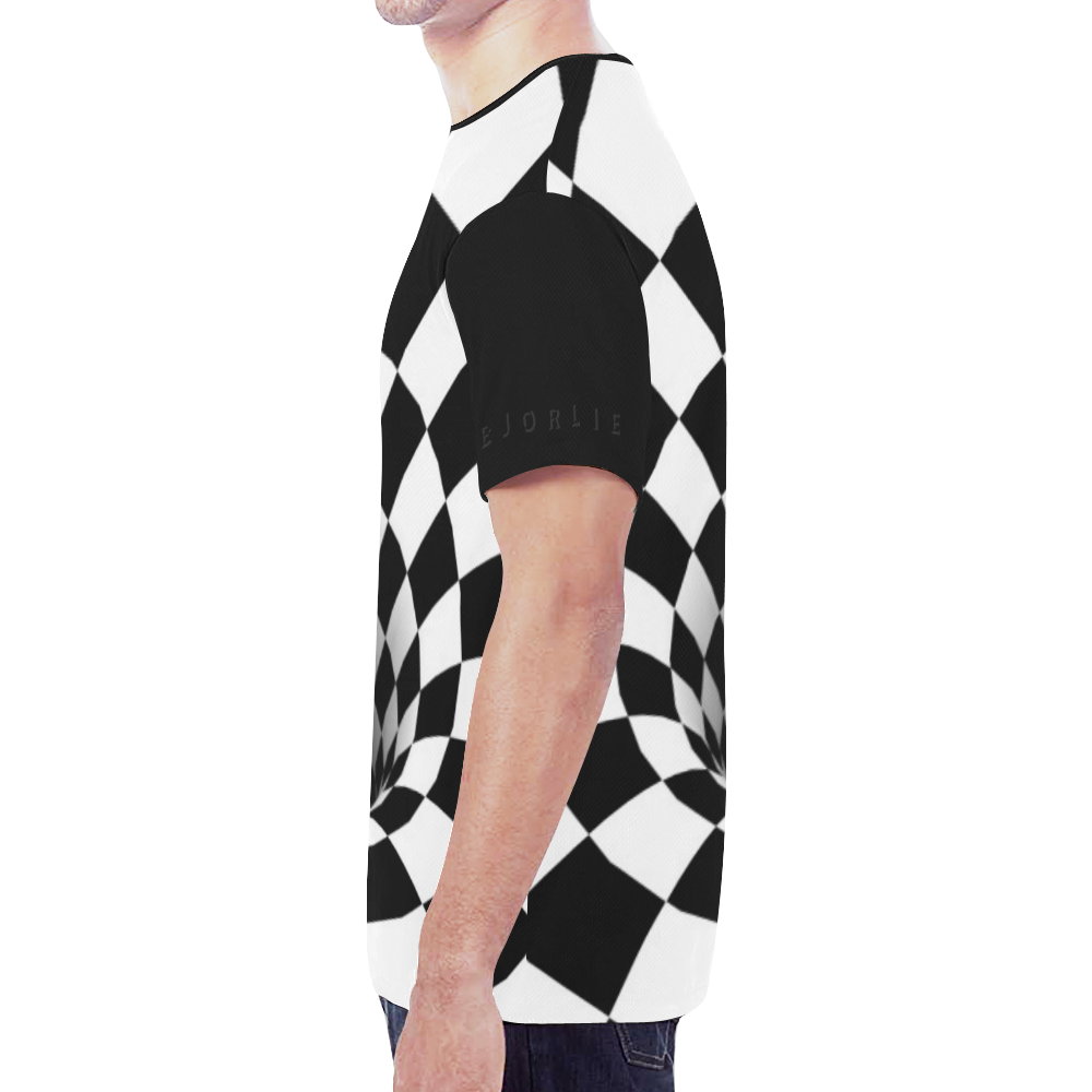 Black and White Checkered Clothing